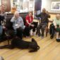 Pups from Faithful Friends Visit Regency